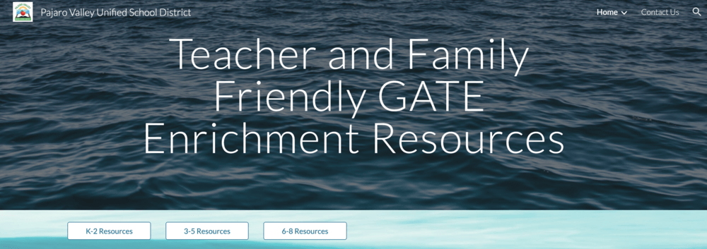 Teacher and Family Resources