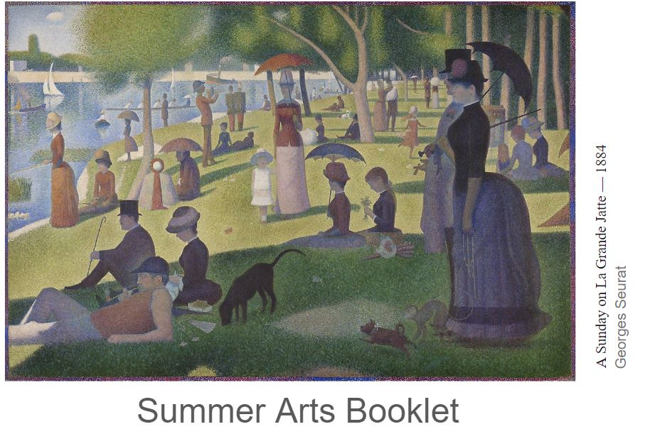 Summer arts book